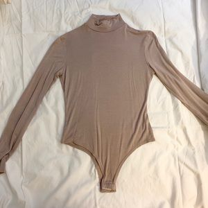 Mini Turtle Neck Long Sleeve Bodysuit
